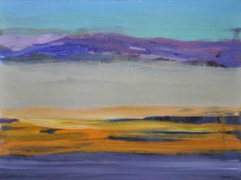 Purple (2012) Kamran Nikravan 30 in. x 40 in. Acrylic on Canvas
