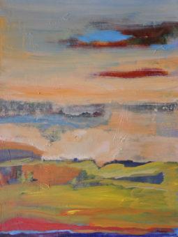 Lay of the Land (2012) Kamran Nikravan 40 in. x 30 in. Acrylic on Canvas
