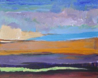 Monsoon (2012) Kamran Nikravan 24 in. x 30 in. Acrylic on canvas