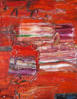 1 (2007) Fereydoun Omidi 16 in. x 12 in. Oil on canvas