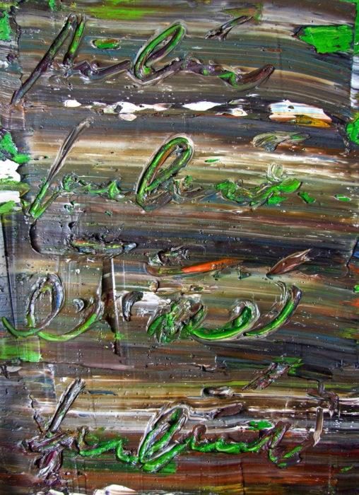 2 (2007) Fereydoun Omidi 16 in. x 12 in. Oil on canvas