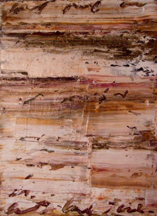 5 (2007) Fereydoun Omidi 16 in. x 12 in. Oil on canvas