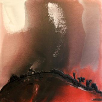 3 (2011) Mostafa Dashti 60.75 in. x 60.50 in. [framed] Acrylic on canvas