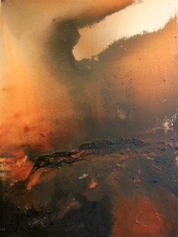 4 (2008) Mostafa Dashti 78.75 in. x 59.00 in. Acrylic on canvas