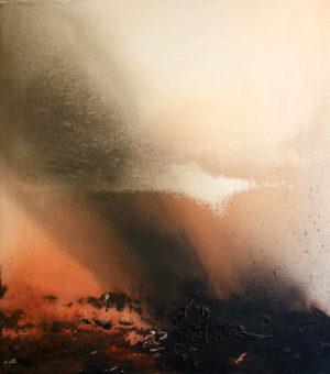 5 (2007) Mostafa Dashti 72.00 in. x 64.25 in. [framed] Acrylic on canvas