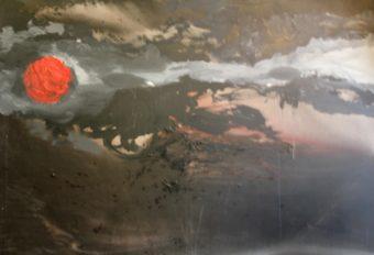 7 (2003) Mostafa Dashti 71.00 in. x 98.25 in. Acrylic on canvas