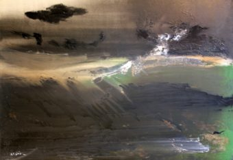 8 (2011) Mostafa Dashti 60.00 in. x 80.00 in. Acrylic on canvas