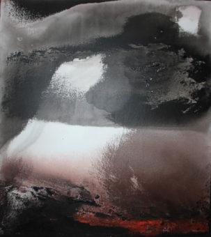 9 (2011) Mostafa Dashti 72.50 in. x 64.50 in. Acrylic on canvas