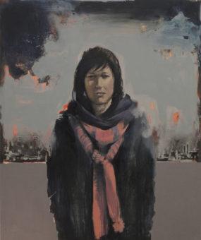 War (2009) Amirhossein Zanjani 48 in. x 40 in. Acrylic on canvas