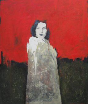 Red Horizon (2009) Amirhossein Zanjani 48 in. x 40 in. Acrylic on canvas