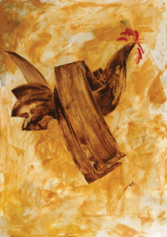 Rooster 15 (2013) Fariba Bahrami 40 in. x 28 in. Oil on canvas