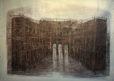 Admirality Arch (2014) Hossein Khosrojerdi 50.75 in. x 61.75 in. Mixed media on cardboard