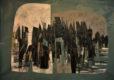 Untitled [2] (2014) Hossein Khosrojerdi 47 in. x 61.5 in. Mixed media on cardboard