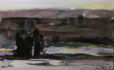By the Atrak River (2010) Ahmad Vakili 16.50 in. x 24.50 in. Acrylic on canvas