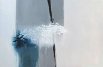 The Days of No Recollection (2011) Maryam Mirzaee 48 in. x 76 in. Acrylic on canvas