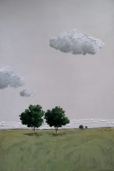 Untitled [16] (2014) Arman Yaghoobpour Acrylic on Canvas