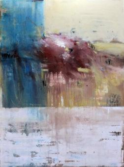 Untitled [20] (2014) Hossein Cheraghchi 76 in. x 56 in. Acrylic on canvas