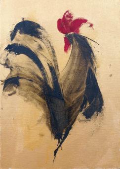 Untitled [12] (2015) Fariba Bahrami 16 in. x 12 in. Oil on canvas