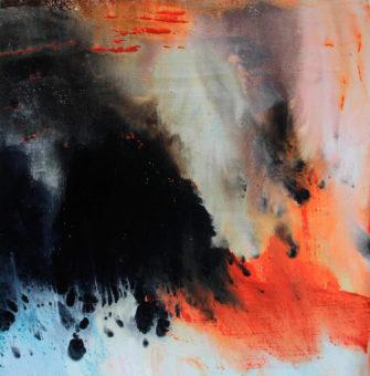 Untitled [17] (2015) Hossein Cheraghchi 24 in. x 24 in. Acrylic on canvas