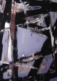 Untitled [19] (2010) Hossein Cheraghchi 40 in. x 28 in. Acrylic on canvas