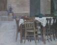 Garden Corners 4  (2015) Mina Ghaziany 52 in. x 66 in. oil on canvas